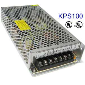100-watt 12v DC power supply for LED lighting  sc 1 st  Kick Lighting & 12 volt 12v DC UL power supplies for dimmable LED lights