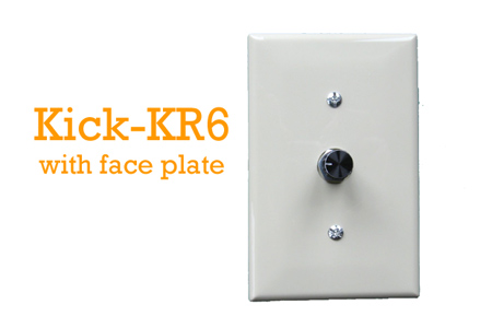 Wall switch for LED dimming